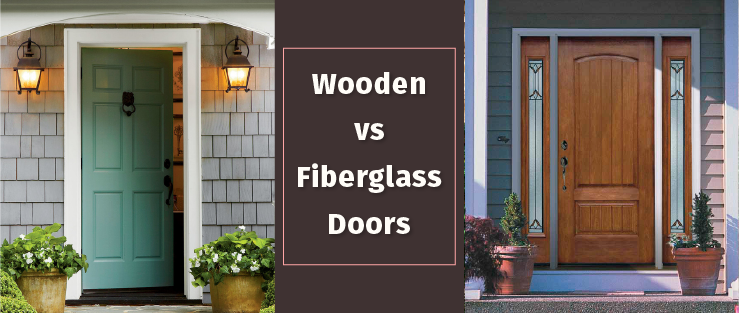 Wooden vs Fiberglass Doors