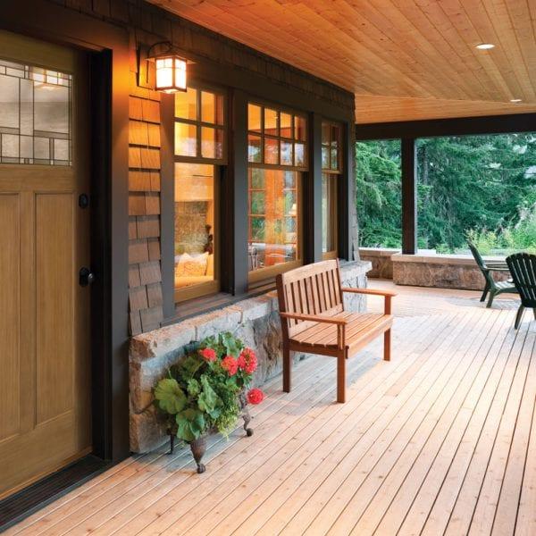 Craftsman style home door in toronto