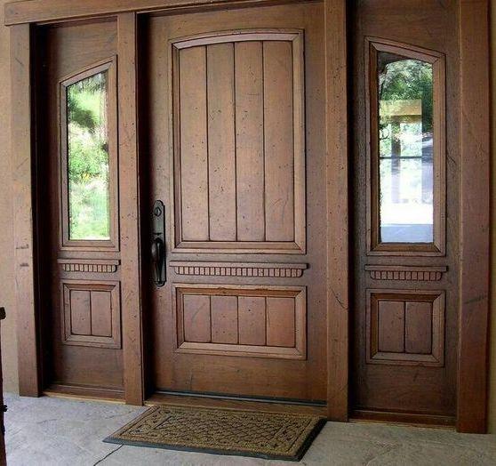 Rustic style home door in toronto