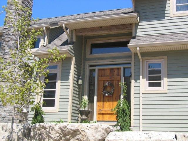 Photo of entry door in Toronto manufactured by Burano Doors