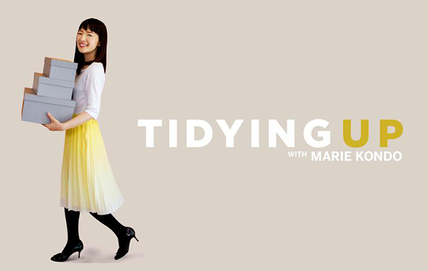 Netflix banner Tidying Up with Marie Kondo